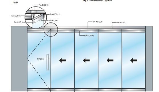 AADO folding doors