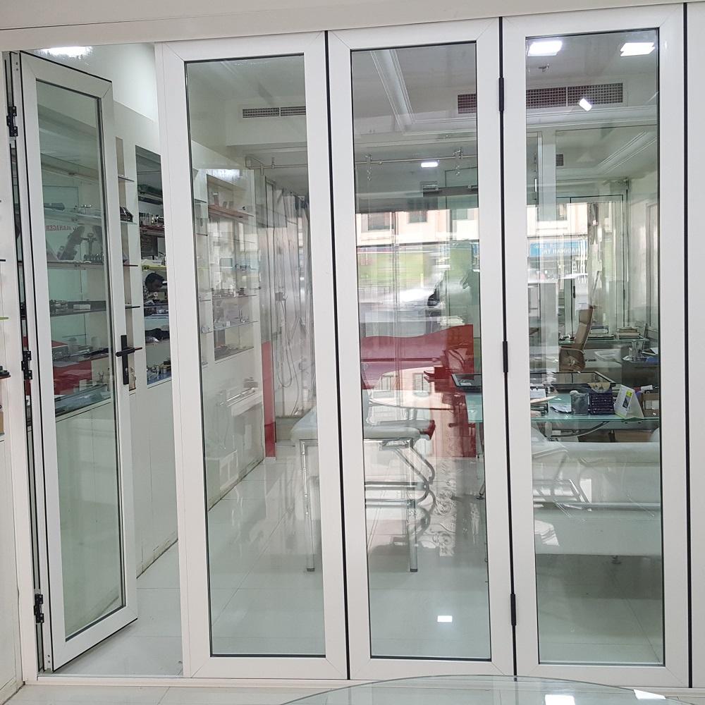 Framed Folding doors in dubai